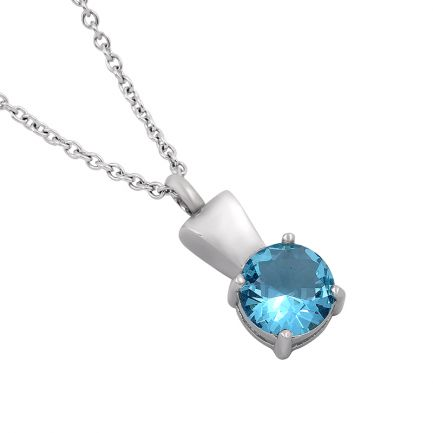Blue Gem Pendant