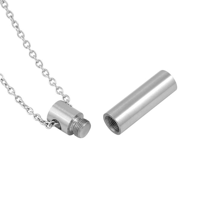Always and Forever Memorial Products: Cylinder Cremation Pendant