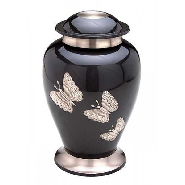 In Flight – Butterfly Metal Urn