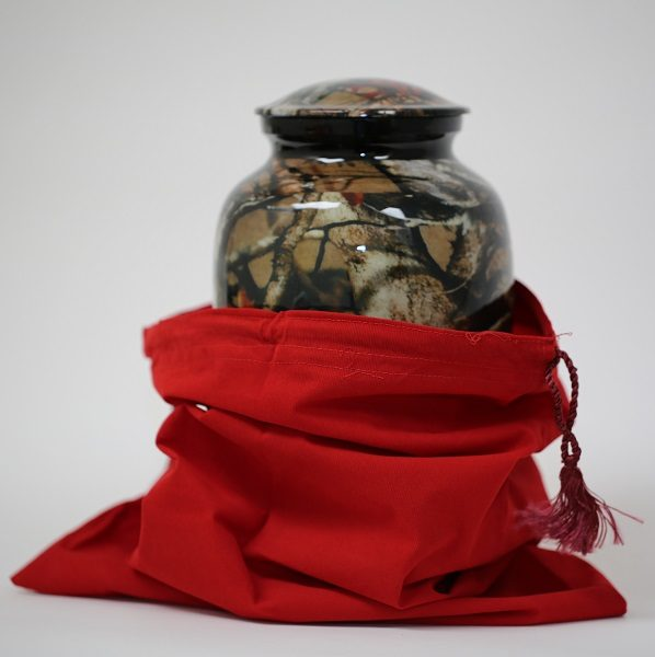 Always and Forever Memorial Products: Camouflage Urn