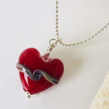 Remember Me Glass Heart – Mini