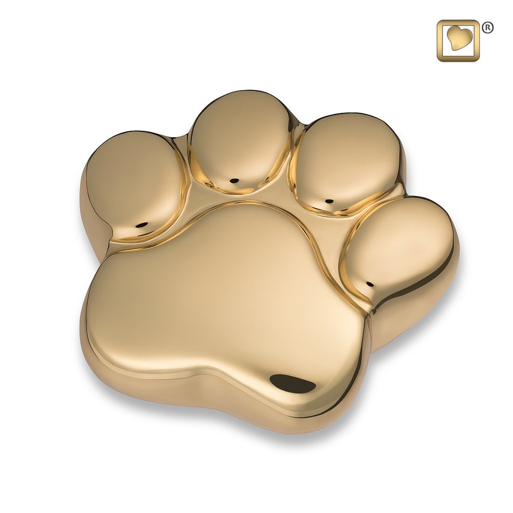 Bright Gold Keepsake Paw