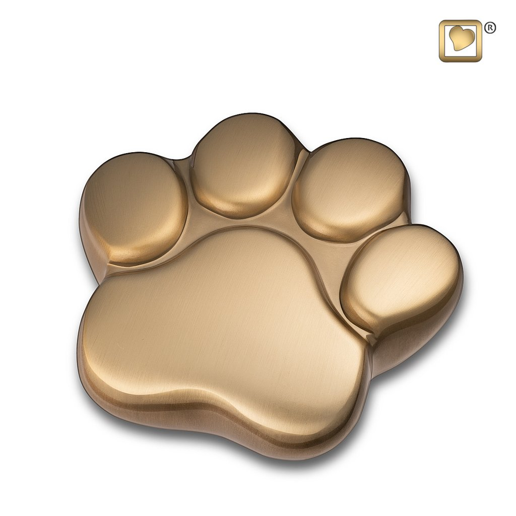 Brushed Gold Keepsake Paw