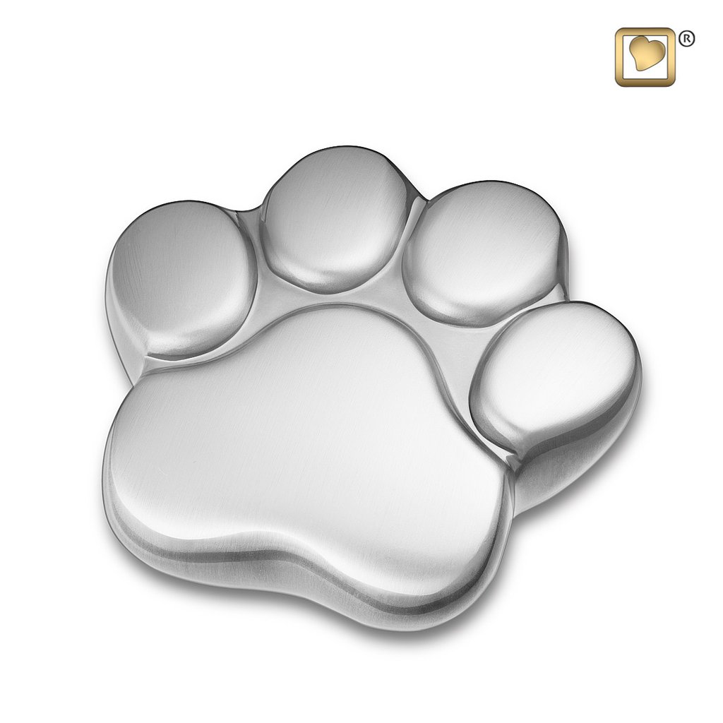 Brushed Pewter Keepsake Paw