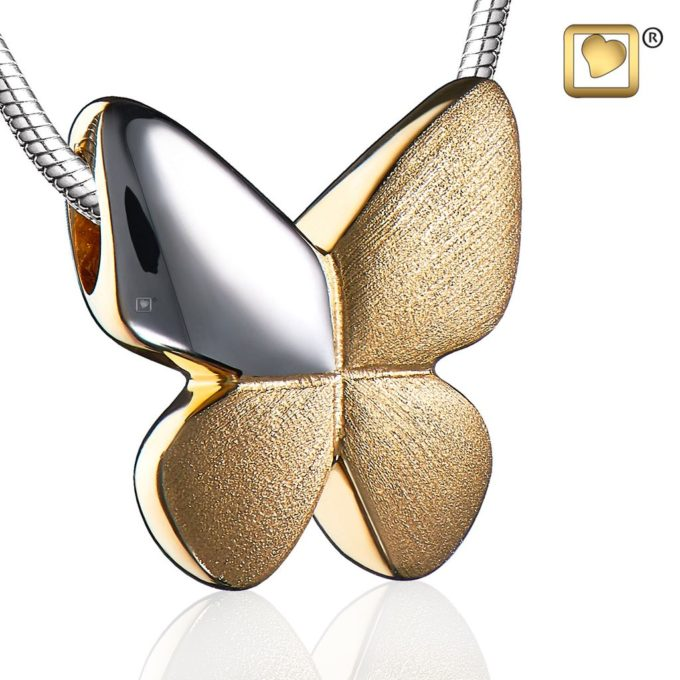 Always and Forever Memorial Products: Butterfly Cremation Pendant