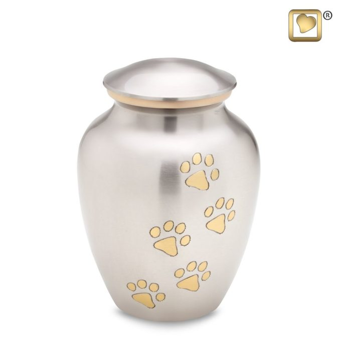 Always and Forever Memorial Products: Pewter Pet Urn