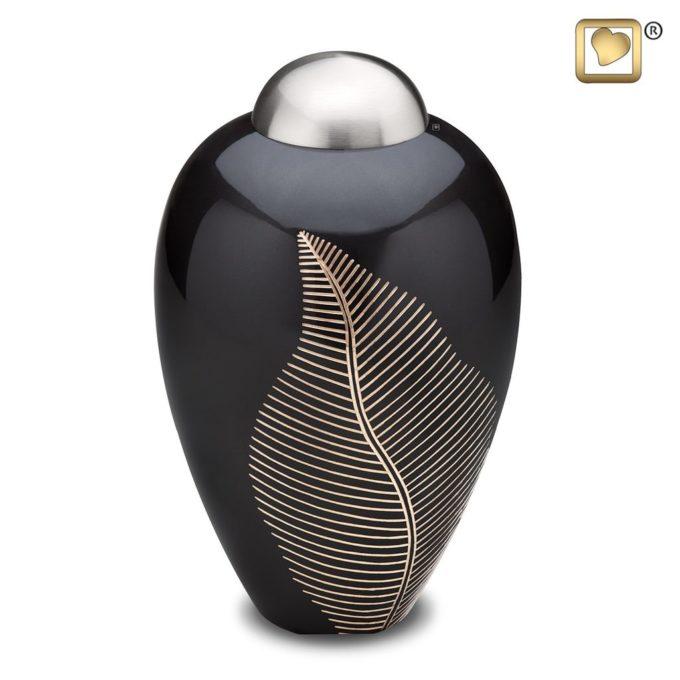 Always and Forever Memorial Products: Elegant Leaf Cremation Urn