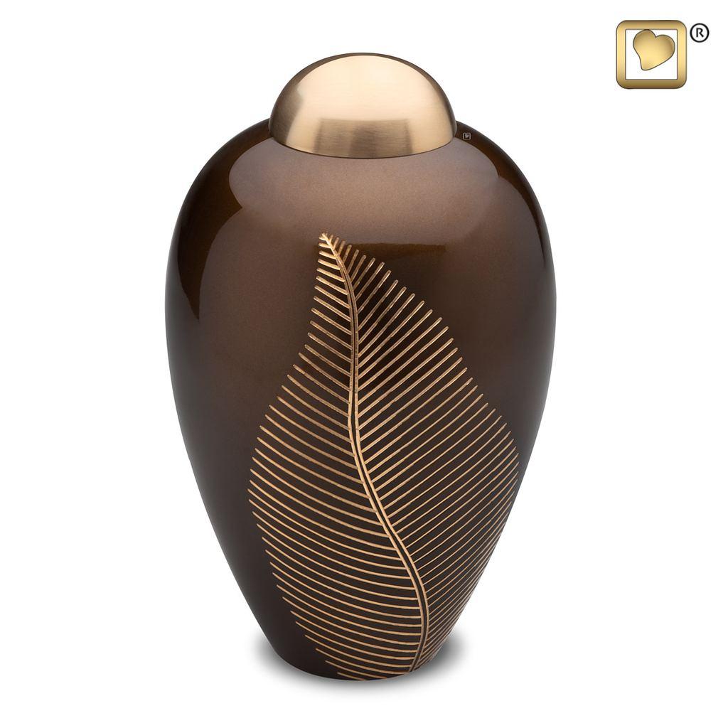 Elegant Leaf Bronze