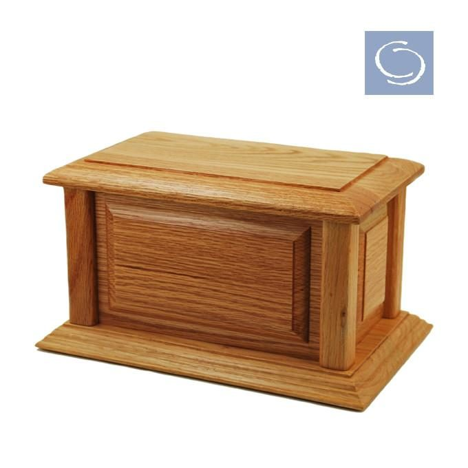 Always and Forever Memorial Products: Federal Oak Wood Urn