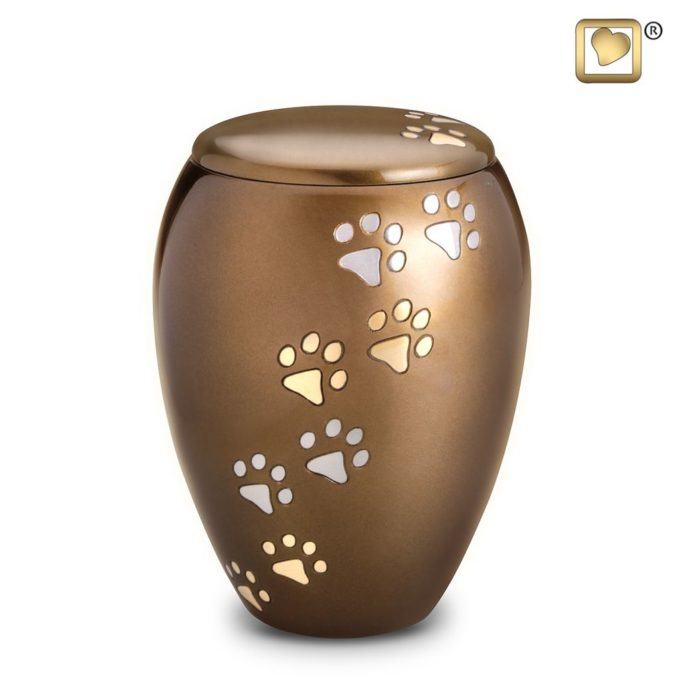 Always and Forever Memorial Products: Majestic Paws Pet Urn