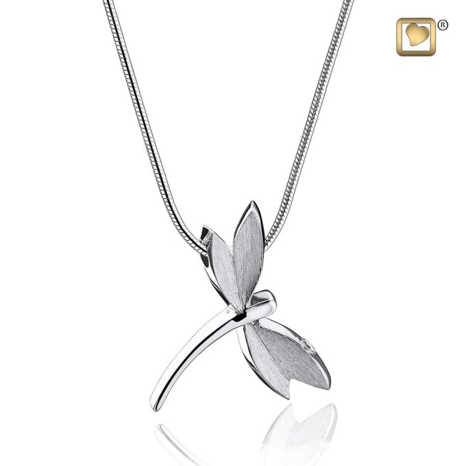Always and Forever Memorial Products: Dragonfly Cremation Pendant