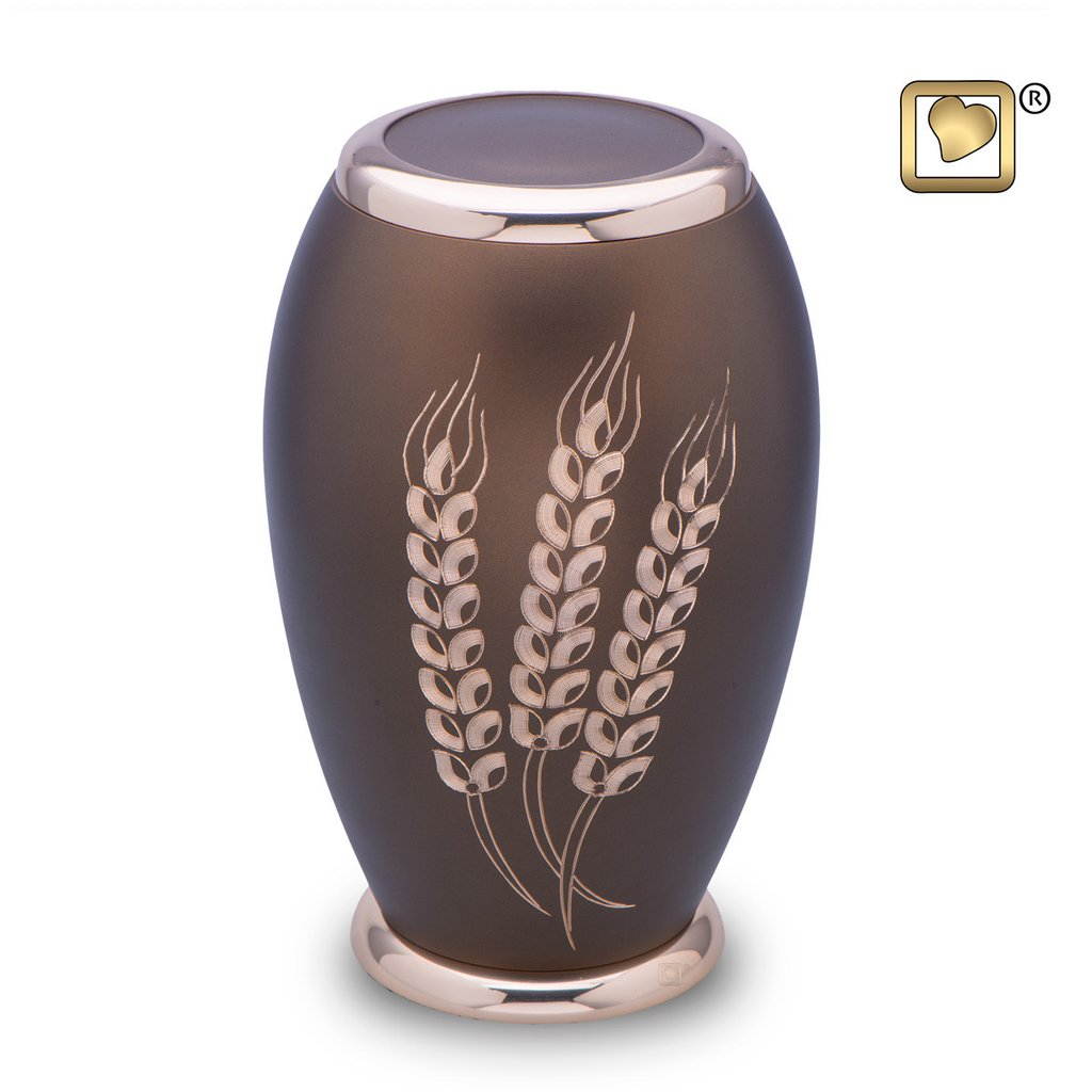 Prairie Wheat Urn