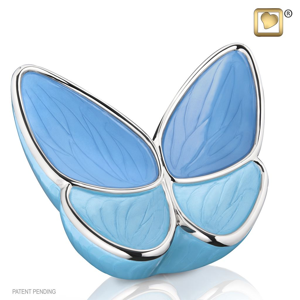 Wings Of Hope Butterfly – Blue