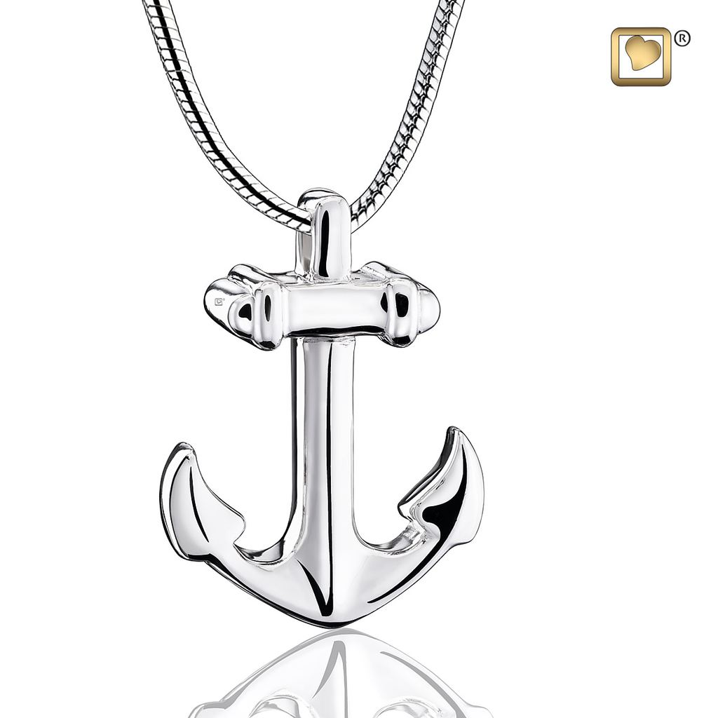 Anchor Cremation Pendant