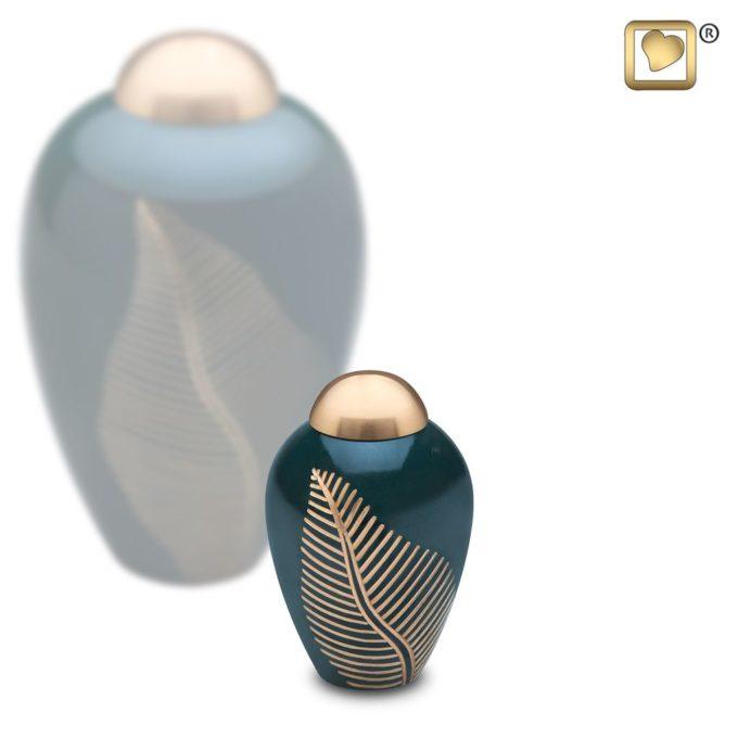 Always and Forever Memorial Products: Elegant Leaf Keepsake Urn