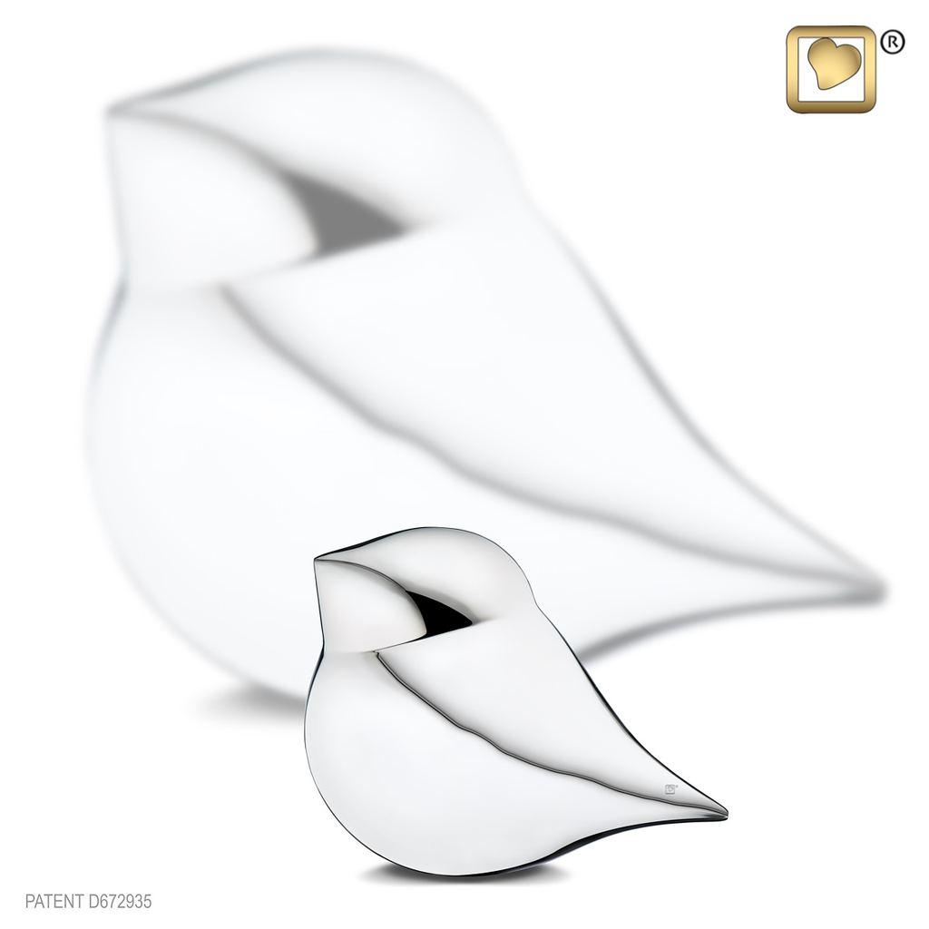 Silver SoulBird Male Keepsake