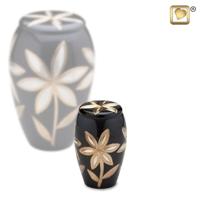 Always and Forever Memorial Products: Lilies Keepsake Urn