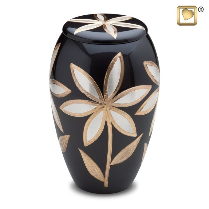 Always and Forever Memorial Products: Majestic Lilies Urn