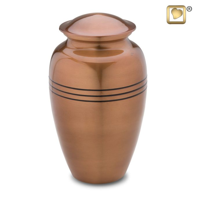 Always and Forever Memorial Products: Radiance Copper Urn