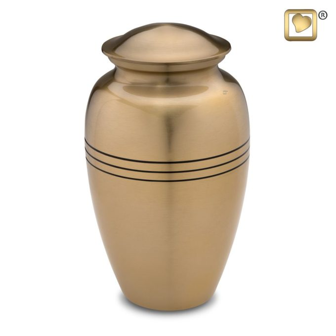 Always and Forever Memorial Products: Radiance Gold Urn