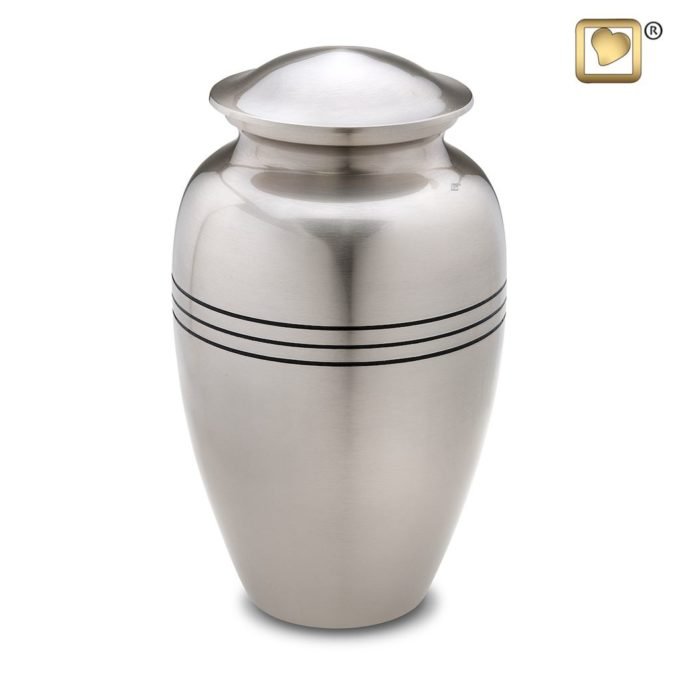 Always and Forever Memorial Products: Radiance Pewter Urn