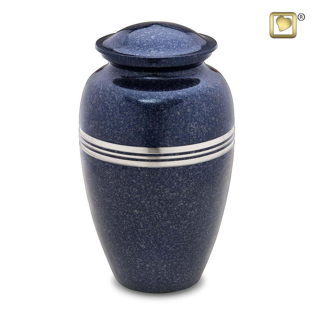 Speckled Indigo Urn