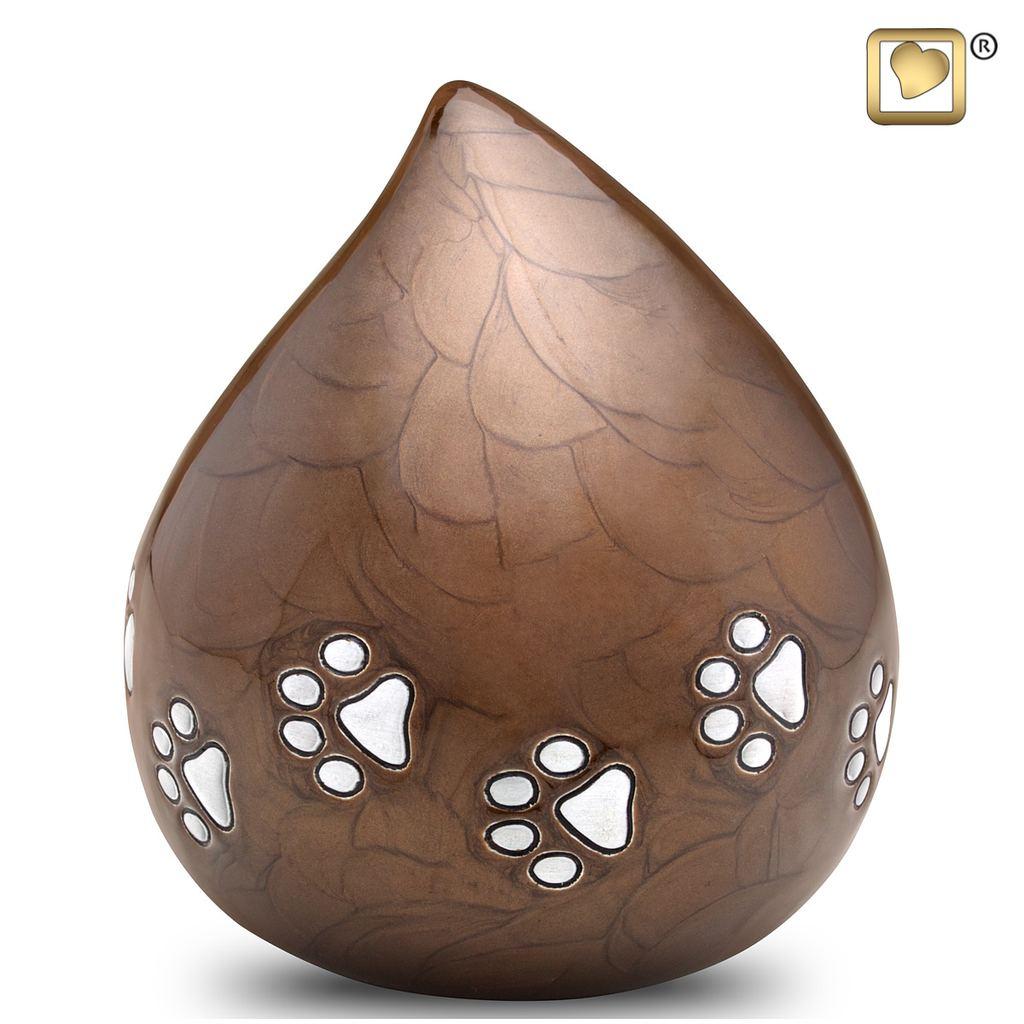 LoveDrop Bronze Pet Urn