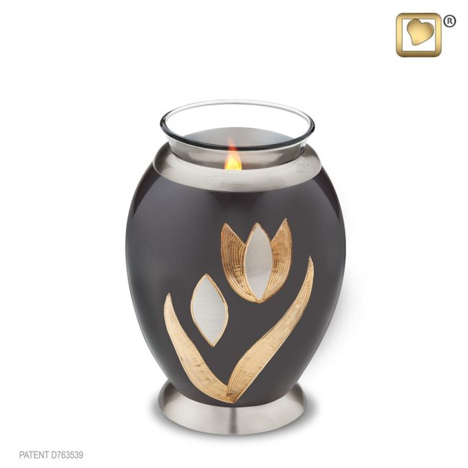 Always and Forever Memorial Products: Tulip Tealight Urn