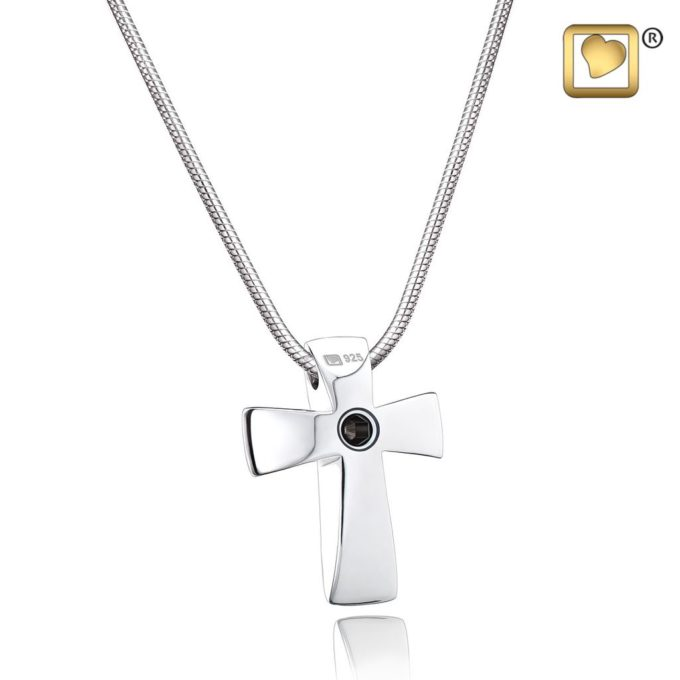 Always and Forever Memorial Products: Cross Cremation Pendant