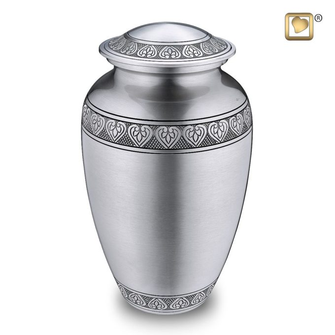 Always and Forever Memorial Products: Infinity Pewter Cremation Urn