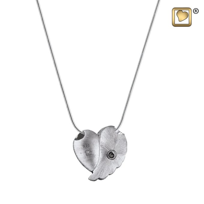 Always and Forever Memorial Products: Love Wings Cremation Pendant