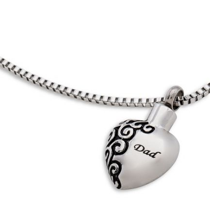 Dad Heart Pendant