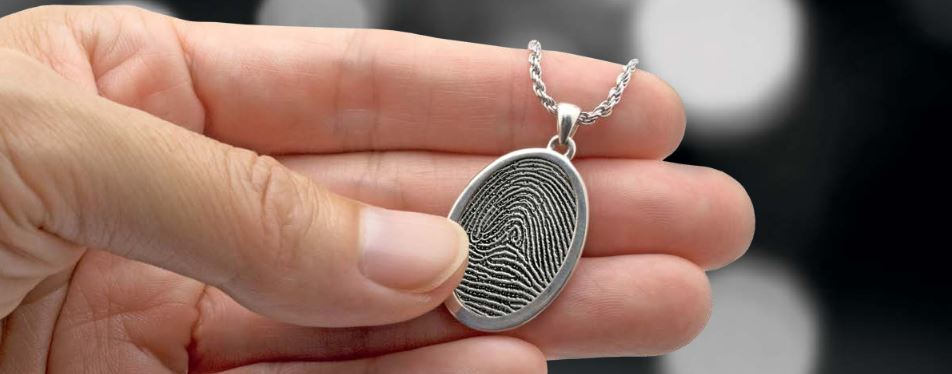 Always And Forever Memorial Products: Fingerprint Jewelry