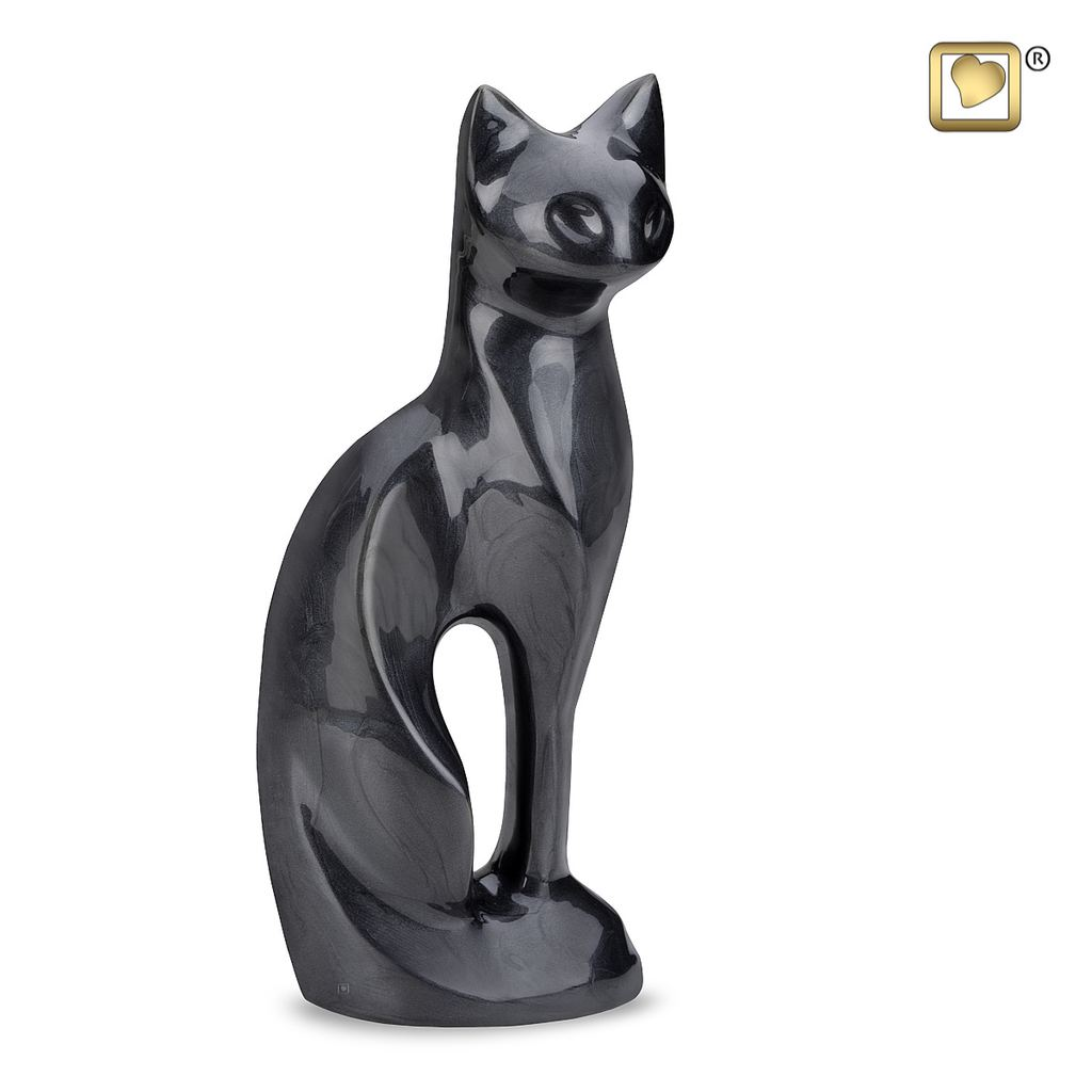 Midnight Cat Urn