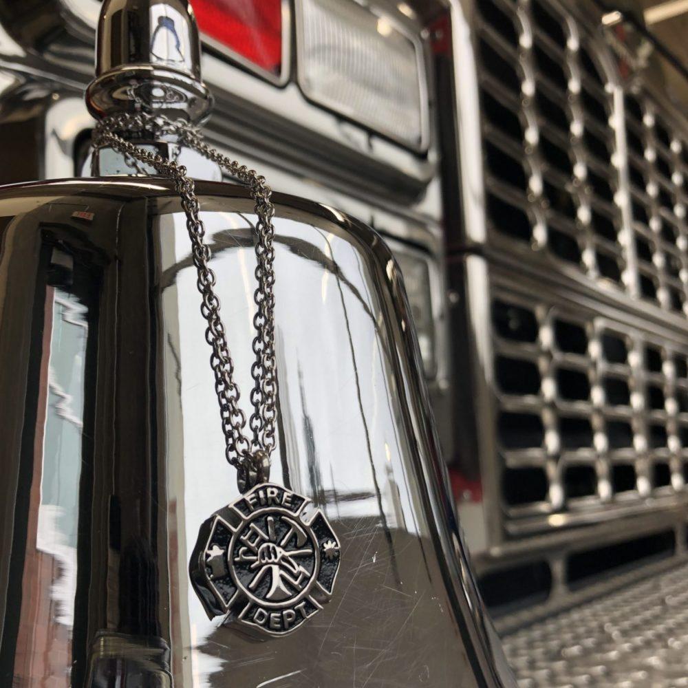 Fire Fighter Urn Necklace