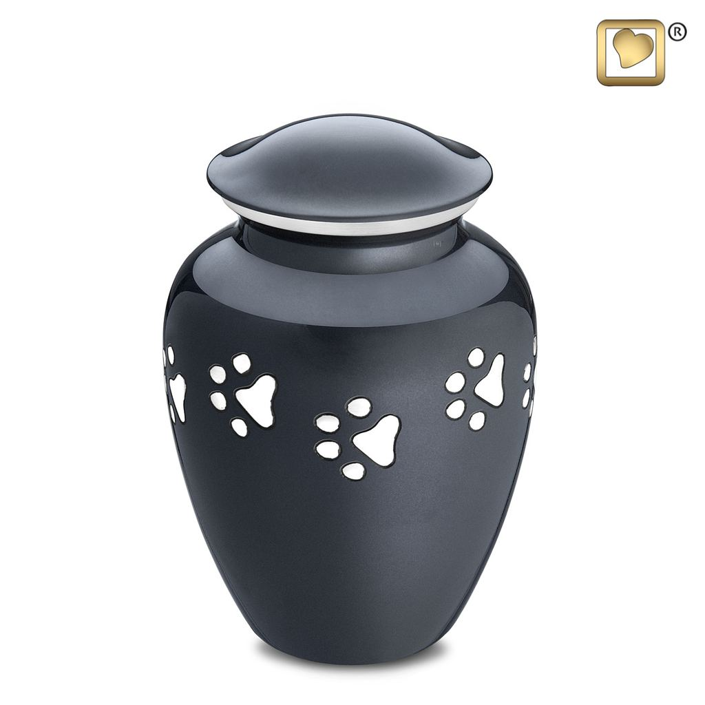 Classic Paw Print Urn Large