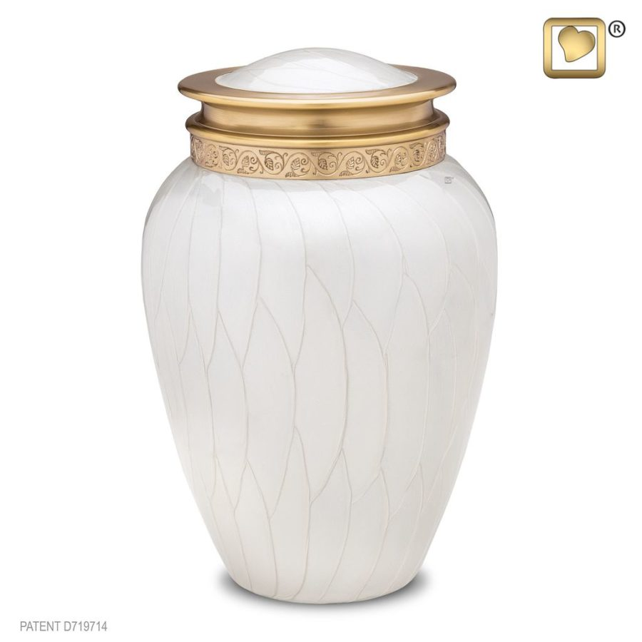 Blessing Pearl Gold Urn