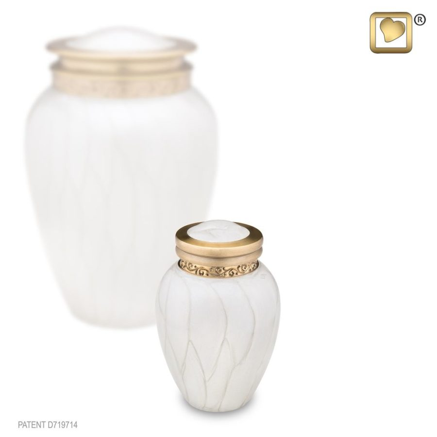 Blessing Pearl Gold Keepsake Urn