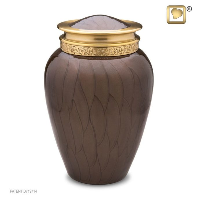 Always and Forever Memorial Products: Blessing Bronze Urn