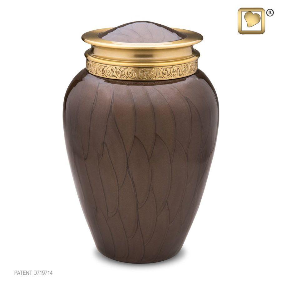 Blessing Bronze Urn