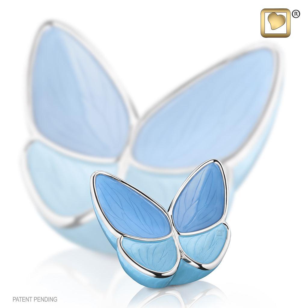 Wings Of Hope Blue Keepsake