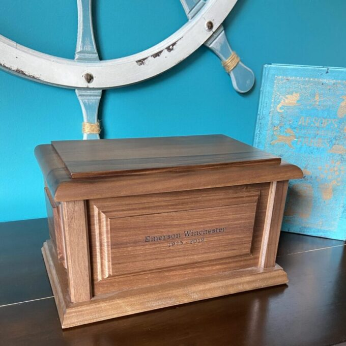 Always and Forever Memorial Products: Winchester Walnut Urn