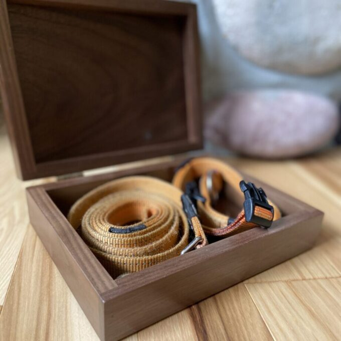 Always and Forever Memorial Products: Walnut Pet Memento Box