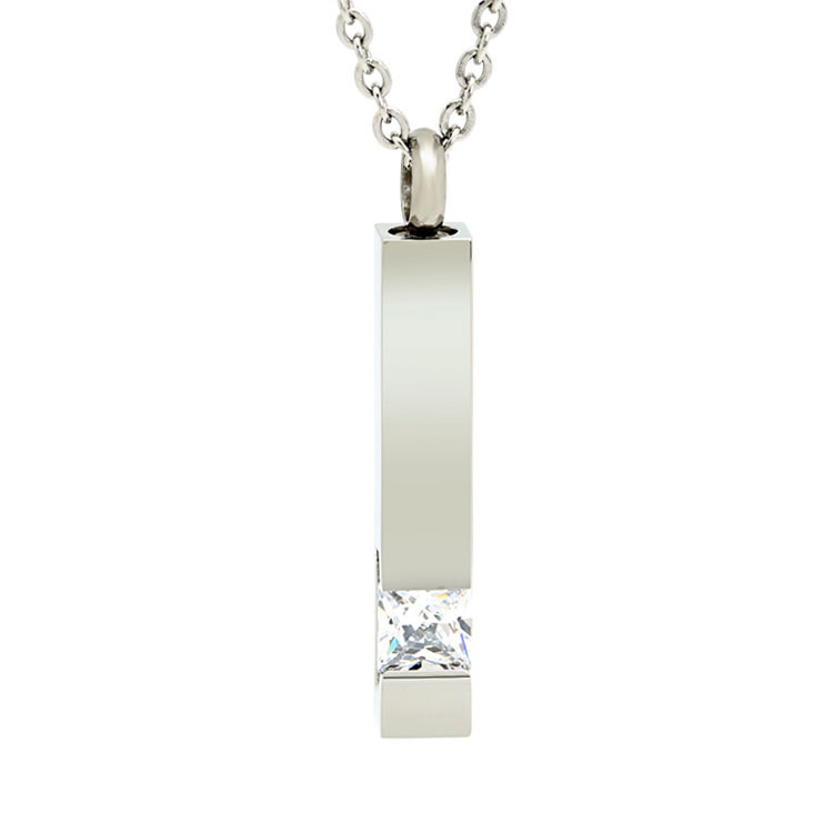 Crystal Inlay Ash Pendant