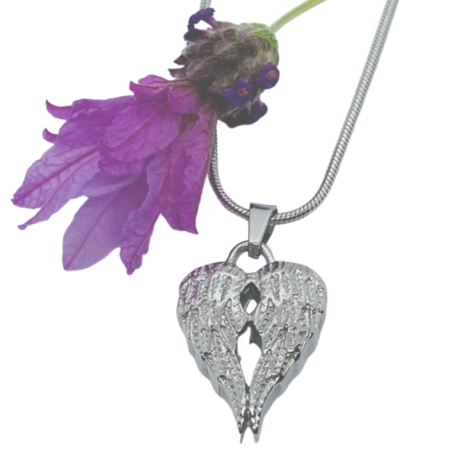 Always and Forever Memorial Products: Angel Wings Cremation Pendant