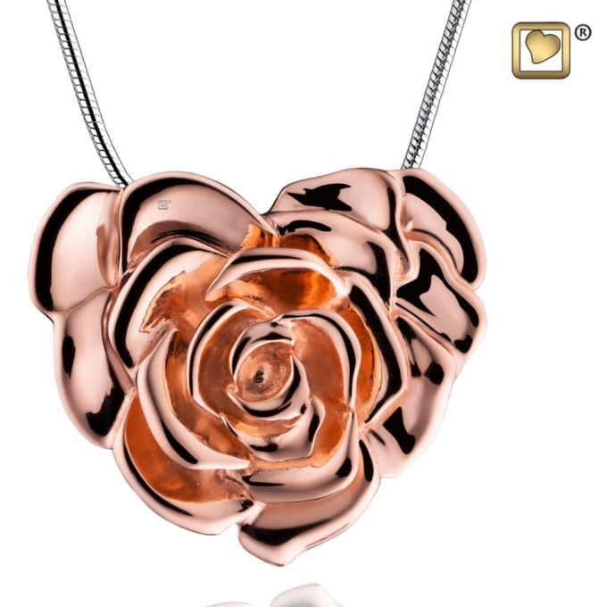 Always and Forever Memorial Products: Love Rose Pendant