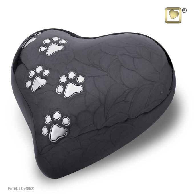 Always and Forever Memorial Products: LovePaws Midnight Urn