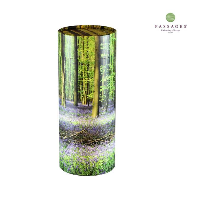 Always and Forever Memorial Products: Bluebell Forest Scattering Tube