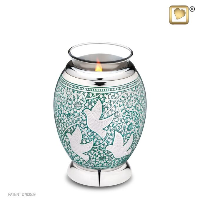 Always and Forever Memorial Products: Returning Home Tealight Urn