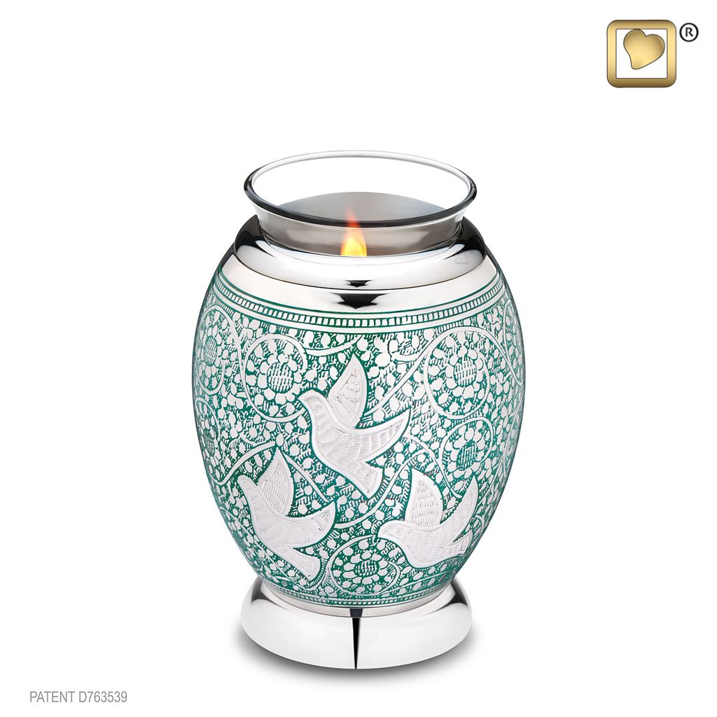 Returning Home Tealight Urn